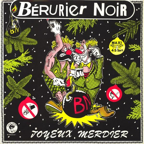"BERURIER NOIR - JOYEUX MERDIER 12""EP"