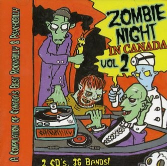 V.A. - Zombie Night In Canada Vol.2 double CD