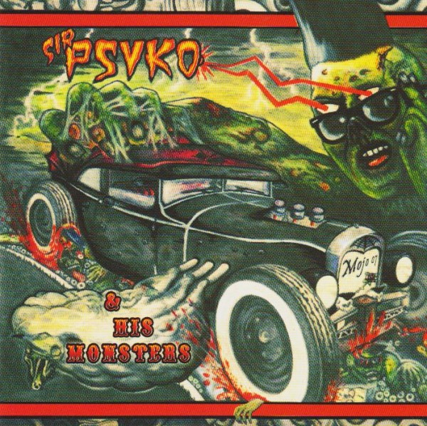 SIR PSYKO AND HIS MONSTERS - Zombie Rock CD