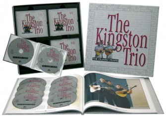 KINGSTON TRIO - The Guard Years 10-CD-Box & 108-Page Book