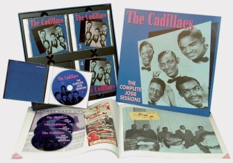 CADILLACS - The Complete Josie Sessions 4-CD Box