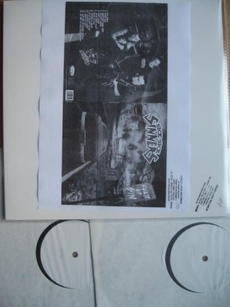 SICK SICK SINNERS - Road Of Sin 2LP Test pressing