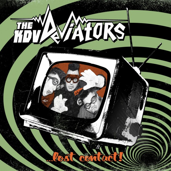 THE KDV DEVIATORS - Lost Contact CD