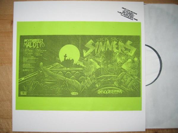 SICK SICK SINNERS - Unfuckinstoppable Testpressing LP