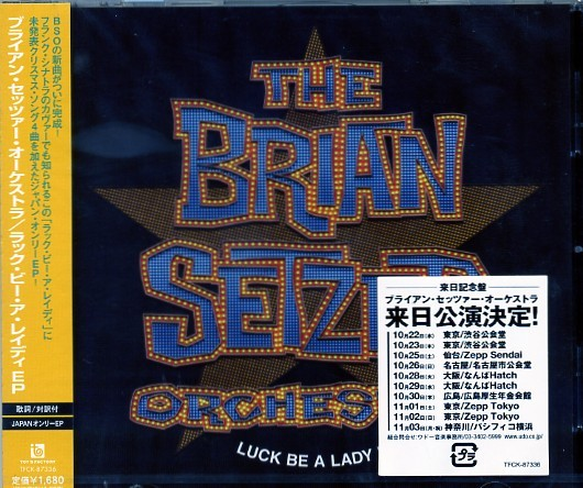 BRIAN SETZER ORCHESTRA - Luck Be A Lady CD