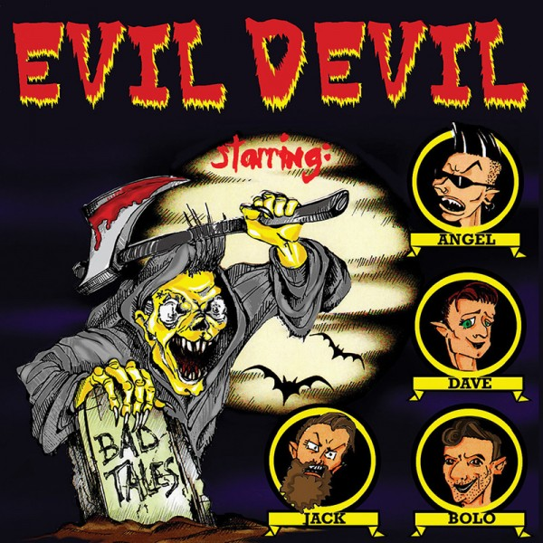 EVIL DEVIL - Bad Tales CD