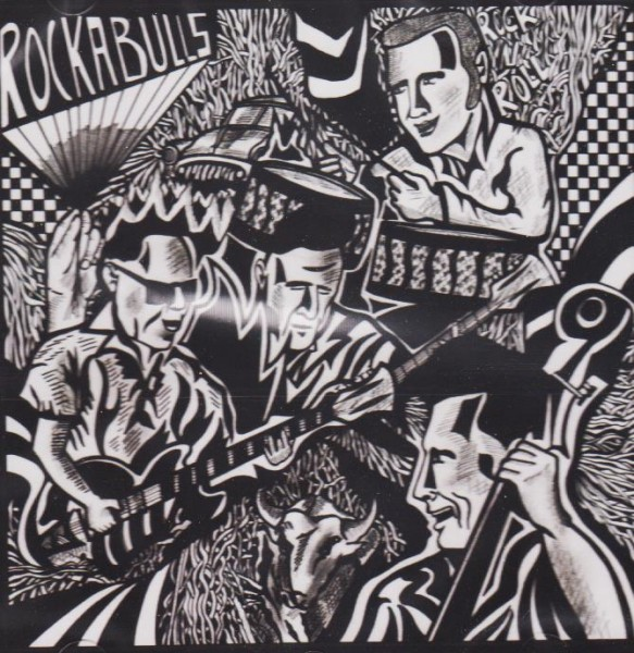 ROCKABULLS - Once At The Barber CD