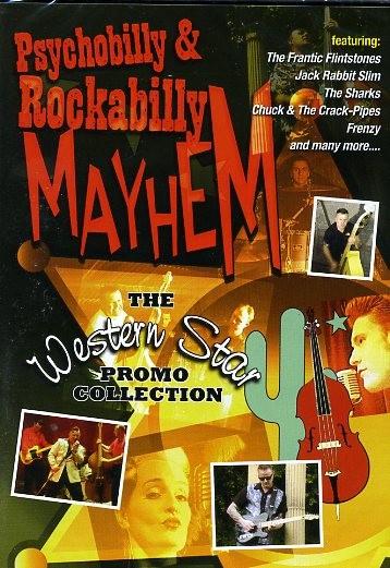V.A. - Psychobilly & Rockabilly Mayhem DVD