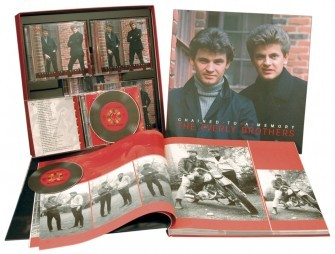EVERLY BROS - Chained To A Memory 8-CD/1-DVD Box + Book