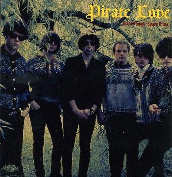 PIRATE LOVE - Black Vodoun Space Blues CD