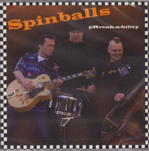 SPINBALLS - pHreak-a-bility CD