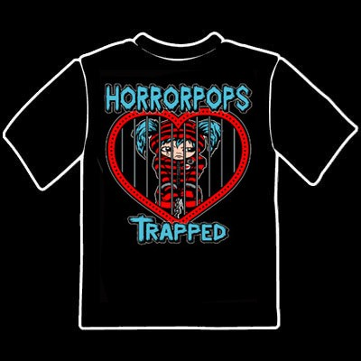 HORRORPOPS - Trapped T-Shirt S