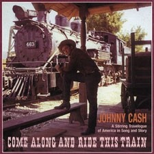 CASH, JOHNNY - Come Along & Ride This Train 4-CD/Book