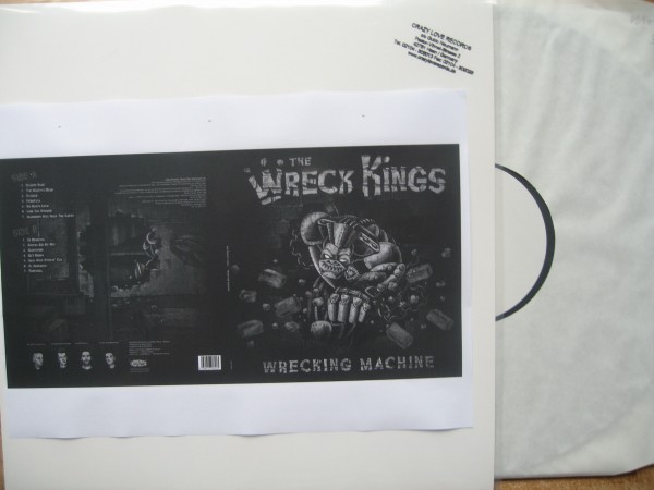 WRECK KINGS - Wrecking Machine LP testpressing