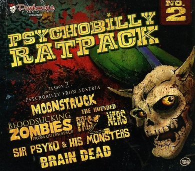 V.A. - Psychobilly Ratpack No.2 CD