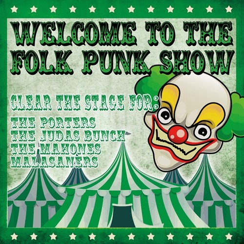 V.A. - Welcome To The Folk Punk Show LP