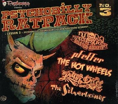 V.A.-Psychobilly Ratpack Lesson 3 CD
