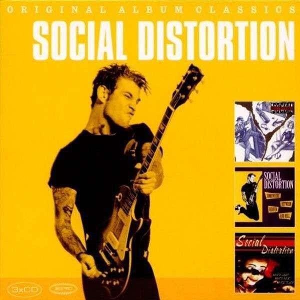 SOCIAL DISTORTION - Original Album Classics 3CD