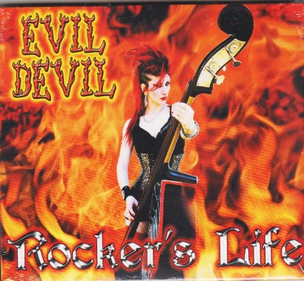 EVIL DEVIL - Rocker's Life CD