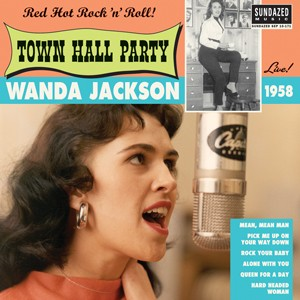 "JACKSON, WANDA - Live At Town Hall Party 1958 10""LP"