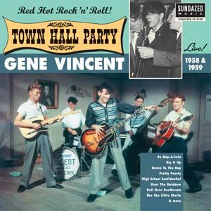 VINCENT, GENE - Live At Town Hall Party 1958/59 LP