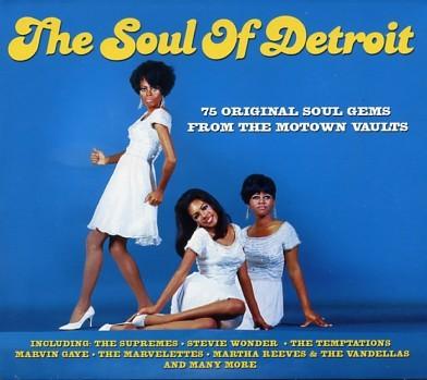V.A. - The Soul Of Detroit 3CD