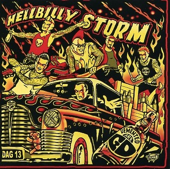 DEMENTED ARE GO - Hellbilly Storm CD