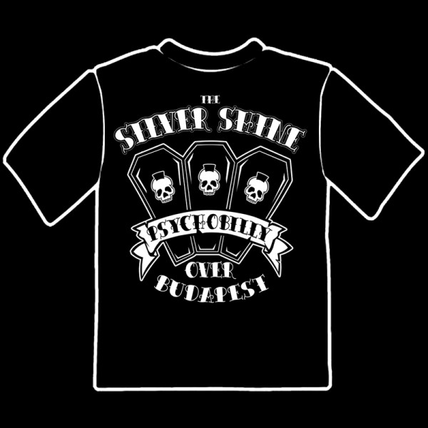 SILVER SHINE - Psychobilly Over Budapest T-Shirt S