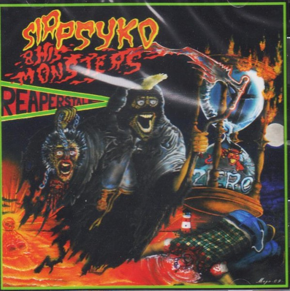 SIR PSYKO AND HIS MONSTERS-Reapers Tale CD