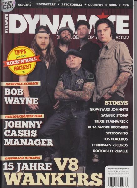 DYNAMITE Magazine # 04 - 2015 + CD