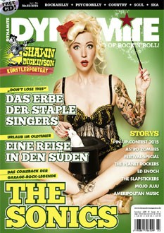 DYNAMITE Magazine # 03-2015 + CD