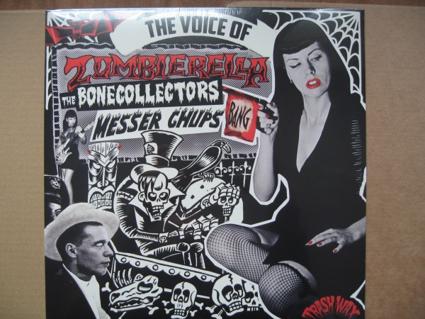 MESSER CHUPS - The Voice Of Zombierella LP
