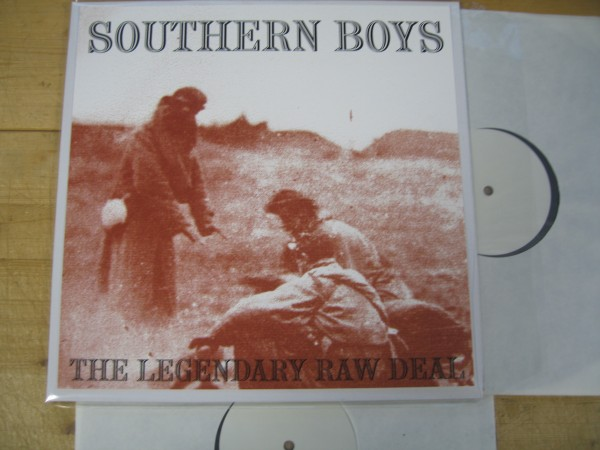 LEGENDARY RAW DEAL - Southern Boys 2LP test pressing
