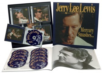LEWIS, JERRY LEE - Mercury Smashes 10-CD + book