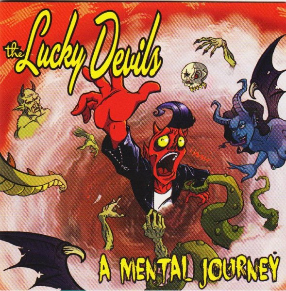 LUCKY DEVILS - A Mental Journey CD