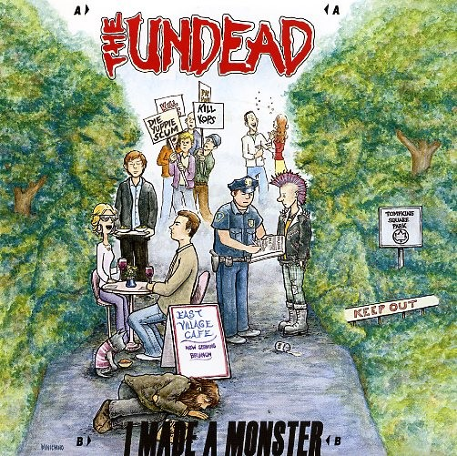 "UNDEAD, THE-I Made A Monster 7""EP"