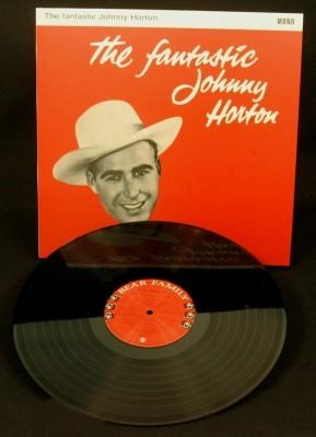 HORTON, JOHNNY - The Fantastic Johnny Horton LP