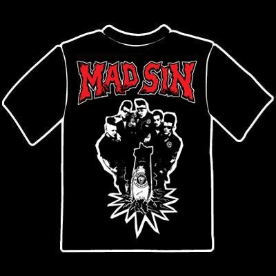 MAD SIN-Photo T-Shirt L