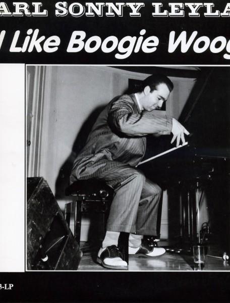 "CARL SONNY LEYLAND - I Like Boogie Woogie 10""LP red vinyl! 2nd Hand"