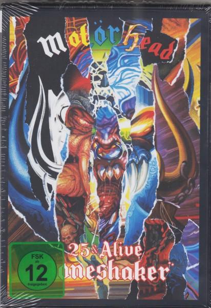 MOTÖRHEAD - 25 And Alive Boneshaker DVD + CD