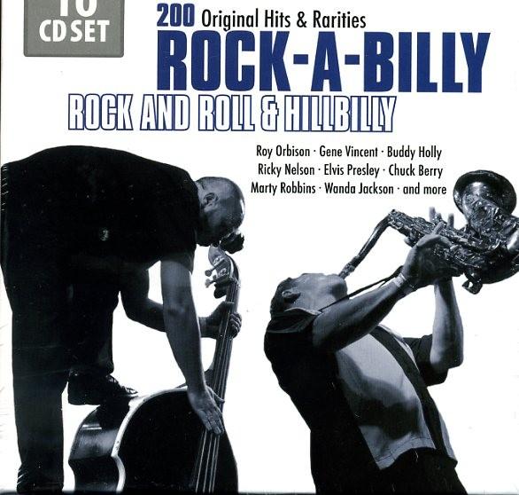 V.A. - Rock-A-Billy 10 x CD
