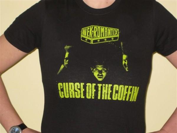 NEKROMANTIX-Curse Of The Coffin Girlie T-Shirt M