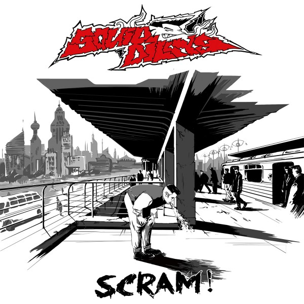 SQUIDBILLYS - Scram! CD