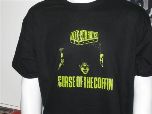 NEKROMANTIX - Curse Of The Coffin T-Shirt XL