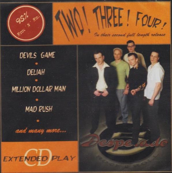 DESPERADO 5 - Two! Three! Four! CD
