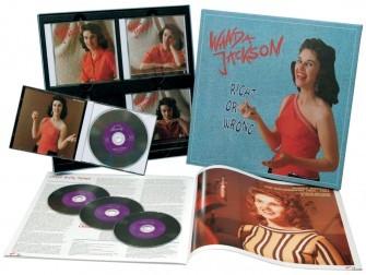 JACKSON, WANDA - Right Or Wrong (1954-62) 4-CD-Box & Book