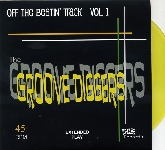"""GROOVE DIGGERS - Off The Beatin' Track 7""""EP"""