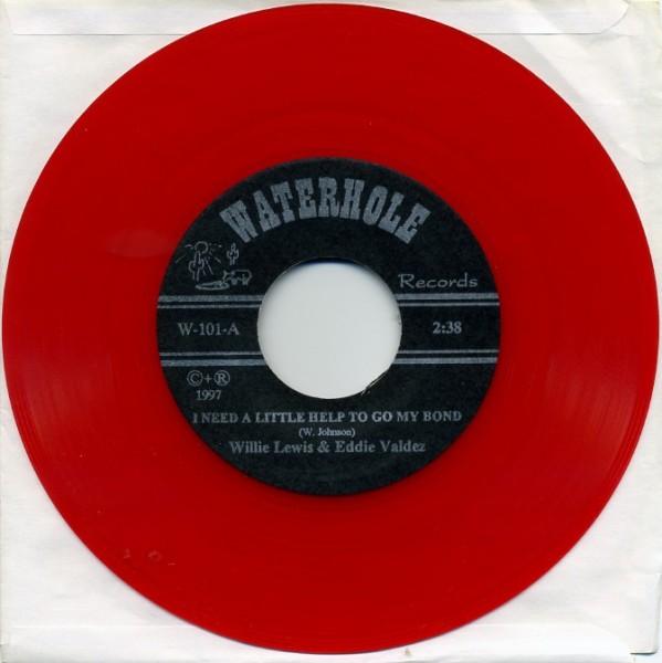 "LEWIS, WILLIE & VALDEZ, EDDIE 7"" red vinyl"