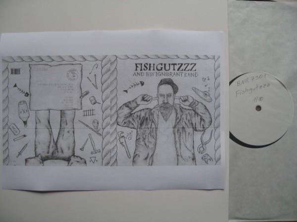 FISHGUTZZZ AND HIS IGNORANT BAND - Same LP PROMO