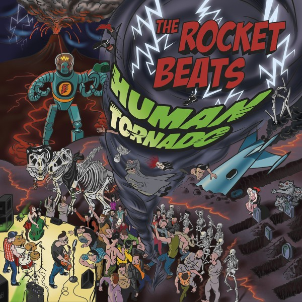 ROCKET BEATS - Human Tornado CD